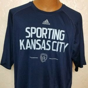 Adidas Sporting Kansas City Mens T-Shirt Sz XL